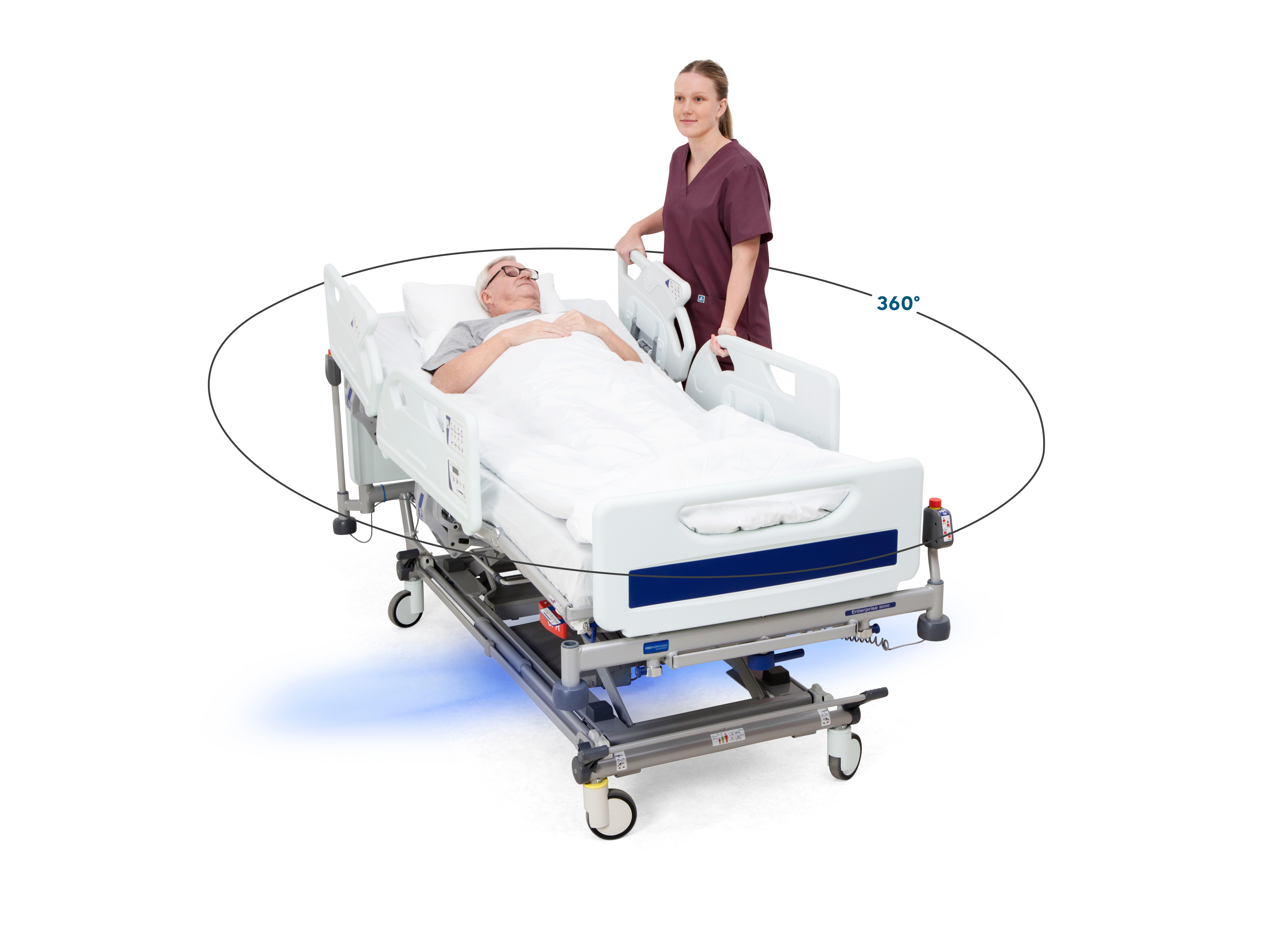 Arjo unveils IndiGo™breakthrough technology for medical bed transport