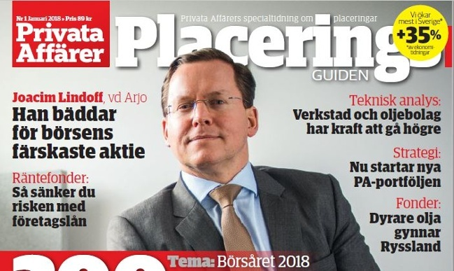 A new company, a new focus - Arjo CEO speaks to Privata Affärer