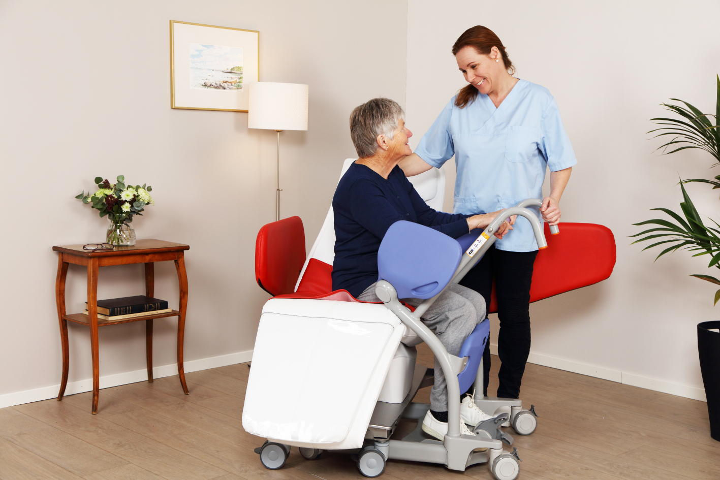 Nursing home evaluation on the Wellness Nordic Relax® Chair